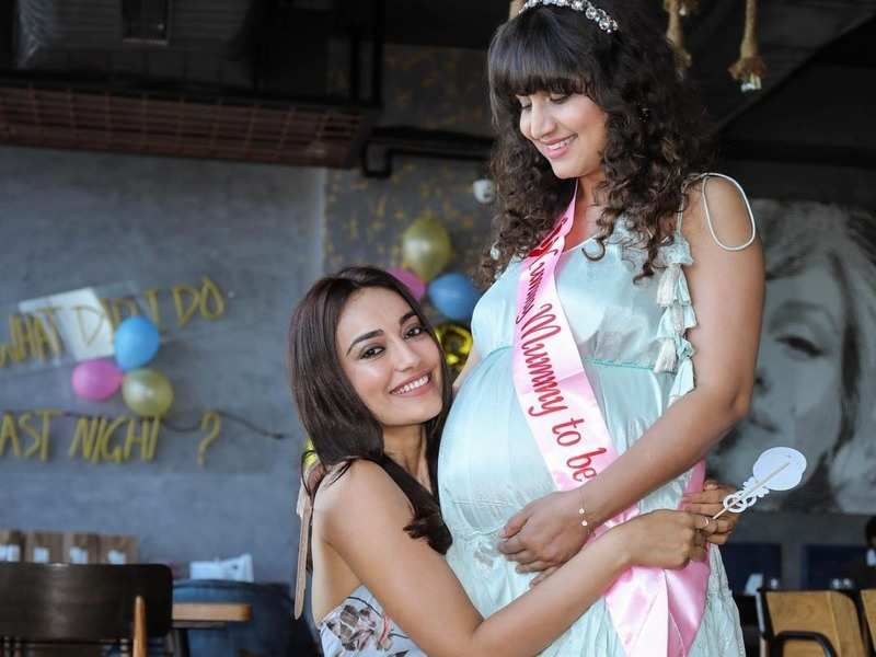 Naagin 3 actress Surbhi Jyoti shares pictures from a friend's baby shower; calls herself 'Maasi-to-be'
