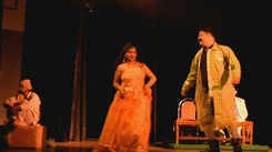 A political play staged in Lucknow