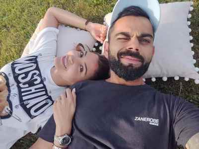 Anushka's sun-soaked pic with hubby Virat