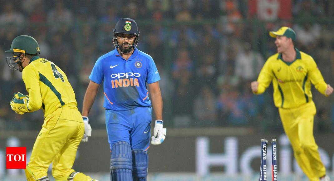 India Vs Australia 5th Odi Australia Beat India By 35 Runs