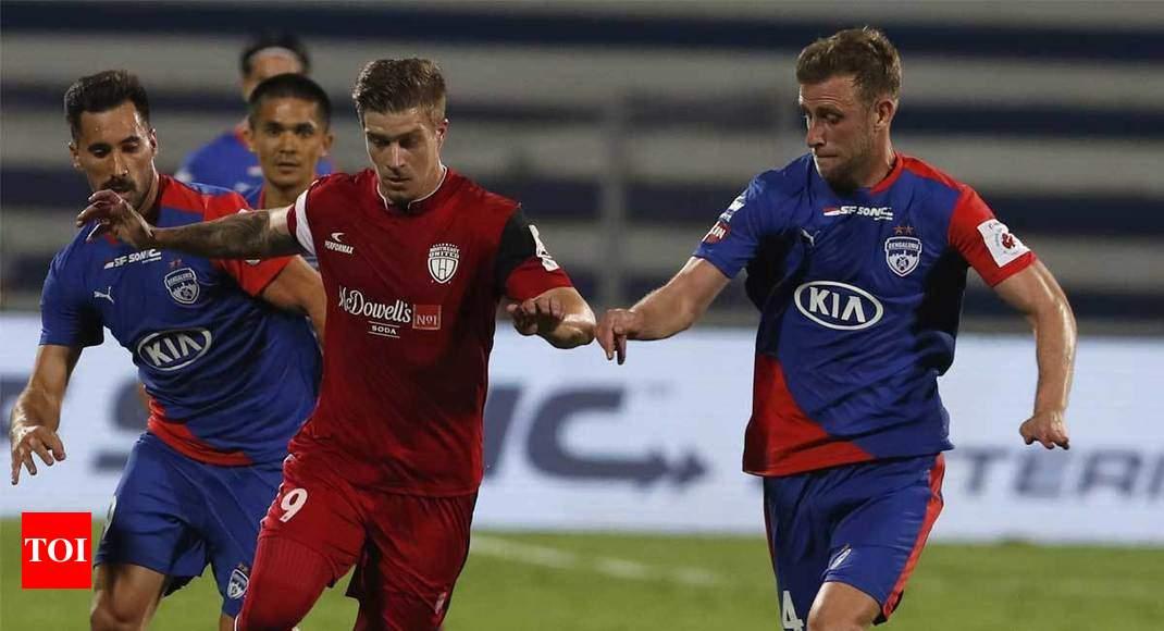 3e3dc0c4b ISL  NorthEast United want action against three Bengaluru FC players ...
