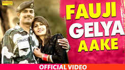 Latest Haryanvi Song Fauji Gelya Aake Sung By TR And Mahi Panchal