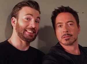 'Avengers: Endgame': Chris Evans and Robert Downey Jr's Twitter banter will give you major BFF goals