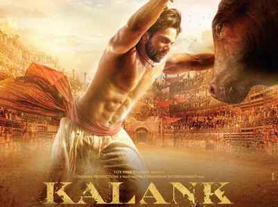 'Kalank' new poster: Varun as fearless Zafar