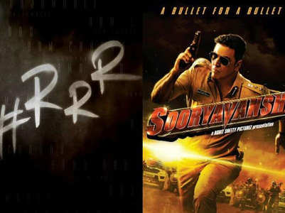 'RRR'-'Sooryavanshi' clash on Eid 2020