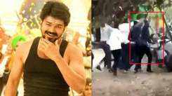 Thalapathy Vijay's real life hero act, saves fans from collapsing fence