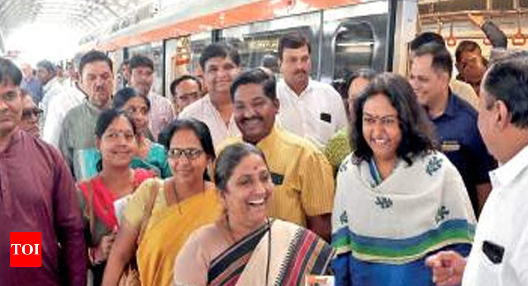 Ahmedabad: Metro to begin commercial run today