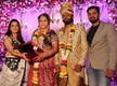 Amrapali Dubey shares a picture from Seema Singh's wedding