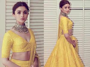 How to wear bold colours like Alia Bhatt