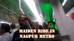 A ride in Nagpur Metro