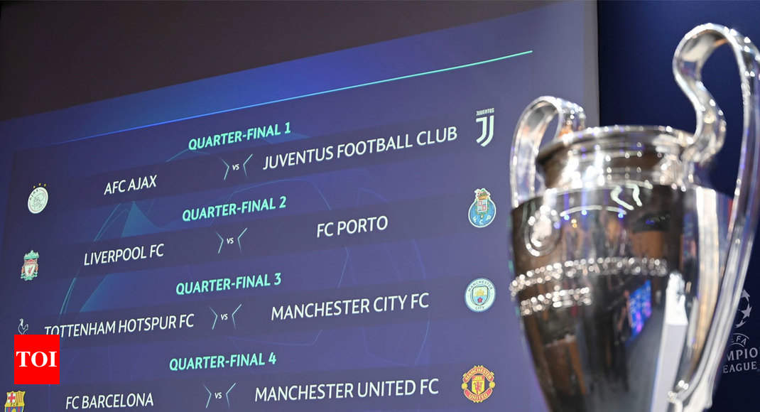 UCL draw: City face Spurs, United take on Barcelona in quarters