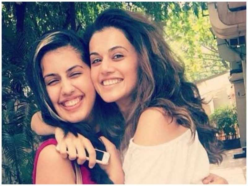 Taapsee Pannu: Taapsee Pannu shares a close bond with sister Shagun Pannu |  Hindi Movie News - Times of India