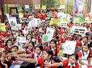 Over 300 students skip school to join #ClimateStrike agitation
