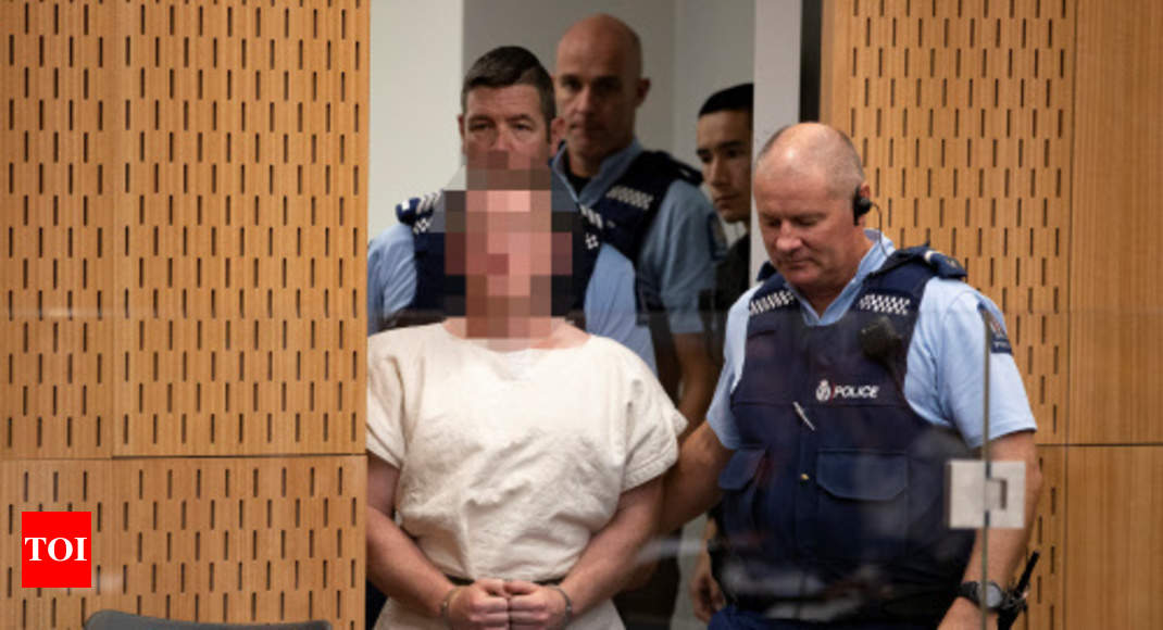 Extremist appears in court charged with New Zealand mosque attack, gets custody till April 5 - Times of India