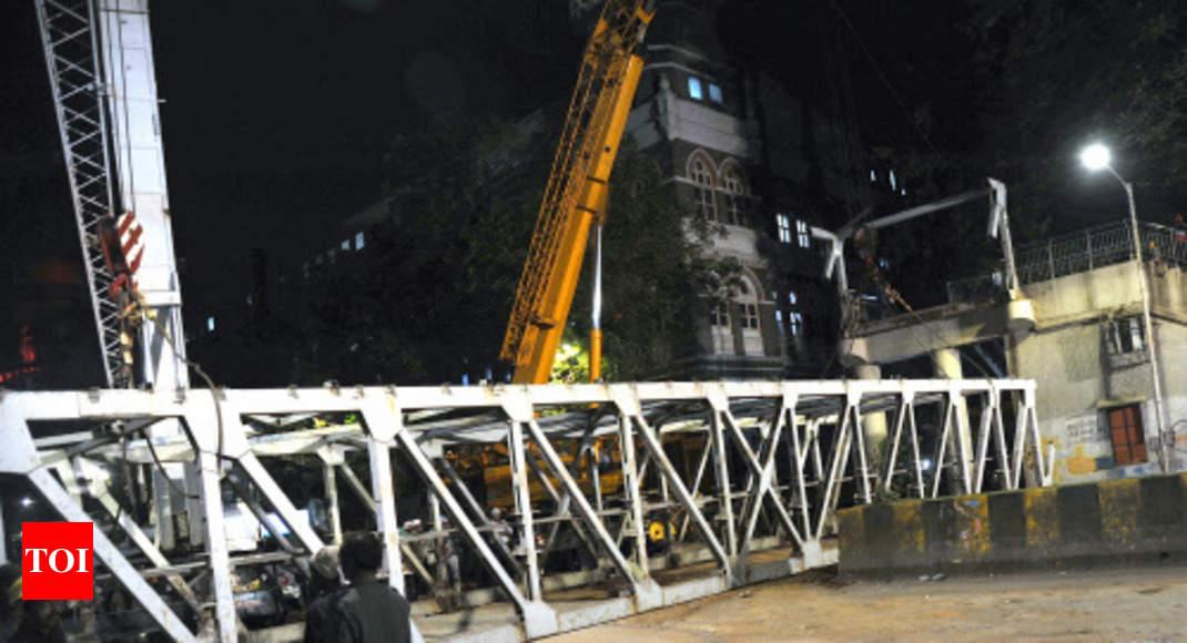 Company that certified Mumbai footbridge 'safe' operates from small flat   Mumbai News