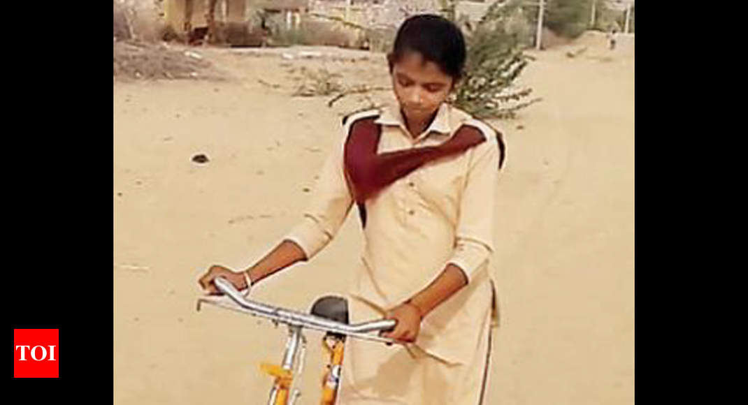 16-year-old Kamla from Barmer village makes Class X 'history