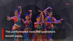 The performance dedicated to Indian Soldiers