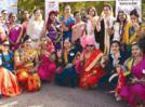 Ethnic attires, saffron phetas and enthusiasm summed up the all-women rally