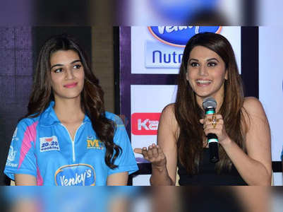 Kriti and Taapsee fight for their credits