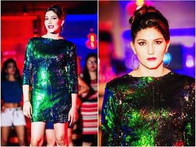 Glamorous pics of BB fame Sapna Choudhary