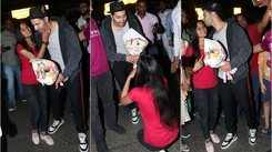 Varun Dhawan fan goes down on one knee and kisses him publicly at airport
