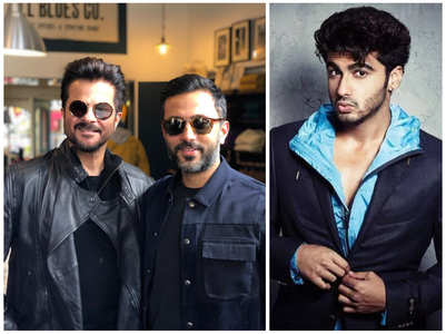 Don't miss Arjun's comment Anil Kapoor's pics