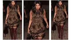 Rs 3.30 lakh! Is the price of Priyanka Chopra's outfit for one evening
