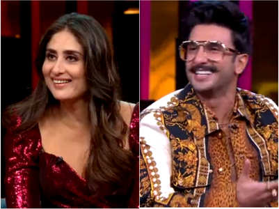 KWK 6: When Kareena got upset with Karan