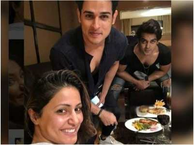 Luv Tyagi unfollows BFF's Hina, Priyank