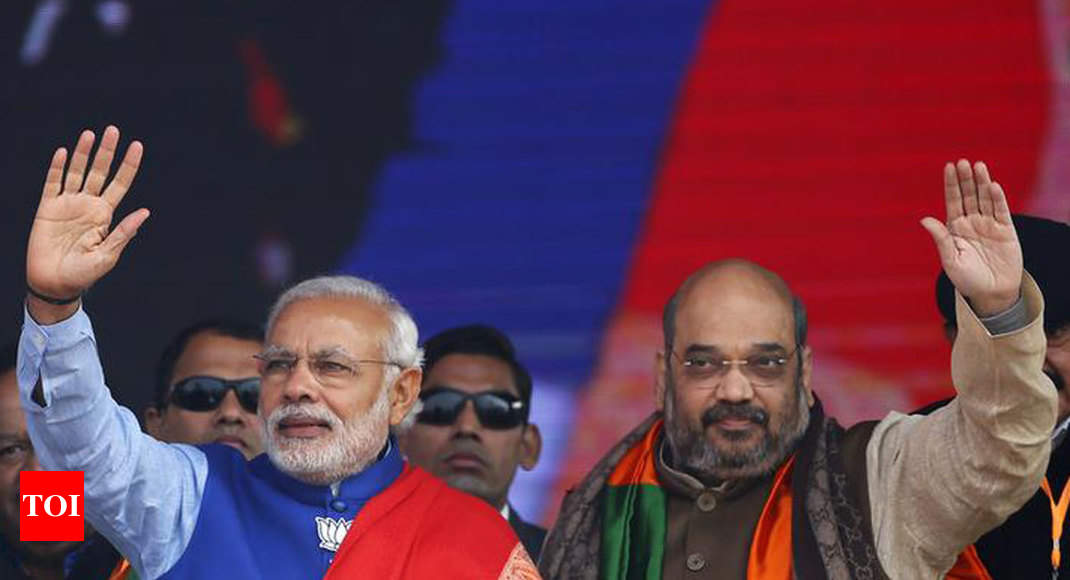 Lok Sabha elections: NDA to return with 283 seats, predicts Times Now-VMR survey - Times of India ?