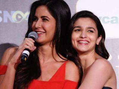 Katrina is smitten by Alia's dance in Kalank
