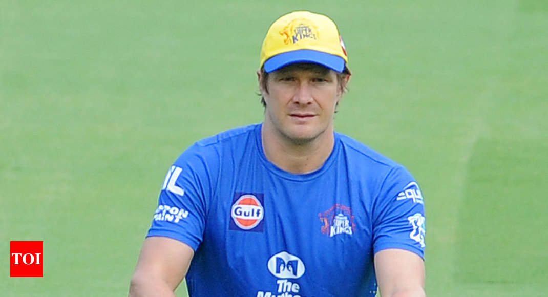 fb3289e4cf5 IPL 2019  Shane Watson s PSL show big boost for Chennai Super Kings ...