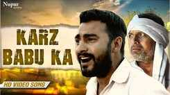 Latest Haryanvi Song Karz Babu Ka Sung By Binder Danoda