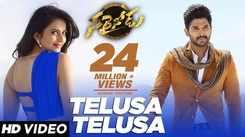 Telugu Song 'Telusa Telusa' Ft. Allu Arjun and Rakul Preet Singh