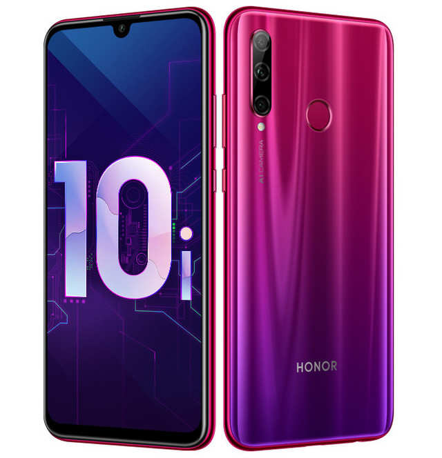 Honor 10i smartphone with triple rear cameras launched