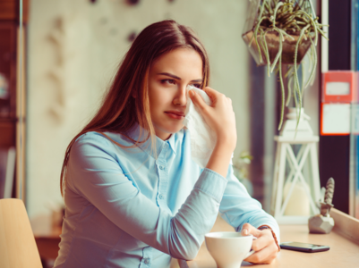 Is it okay to cry at work? The answer might not be what you're thinking!