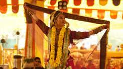 Devotees celebrate Holi at Govind Dev Ji temple in Jaipur