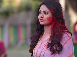 A splash of Holi on the sets of tv show Main Bhi Ardhangini in Jaipur