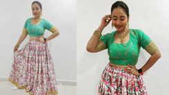 Bhojpuri sensation Rani Chatterjee dons desi look for Holi