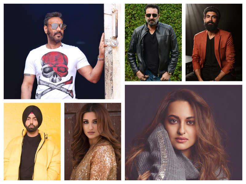 'Bhuj: The Pride of India': Sanjay Dutt, Sonakshi Sinha, Rana Daggubati, Parineeti Chopra and Ammy Virk join the Ajay Devgn starrer