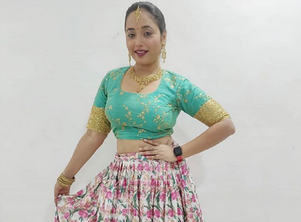 Photo: Bhojpuri actress Rani Chatterjee is all set for Holi