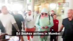 DJ Snake arrives in Mumbai