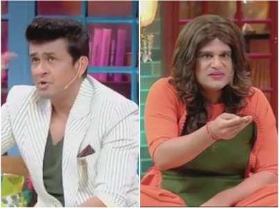 TKSS: Sonu Nigam pulls Krushna's leg