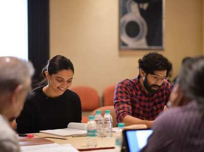 Deepika, team 'Chhapaak' begin script readings