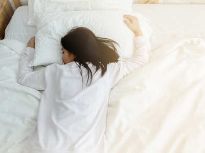 The difference between light sleep and heavy sleep