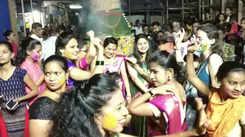 Mumbaikars celebrate Holi with joy and fervour