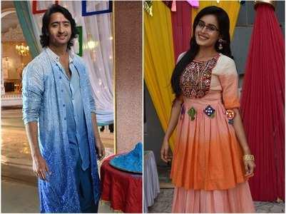 Shaheer Sheikh, Rhea Sharma play Holi