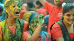 Special students of all ages get together to play with colours and celebrate Holi