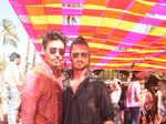Shawar Ali and Vidyut Jammwal