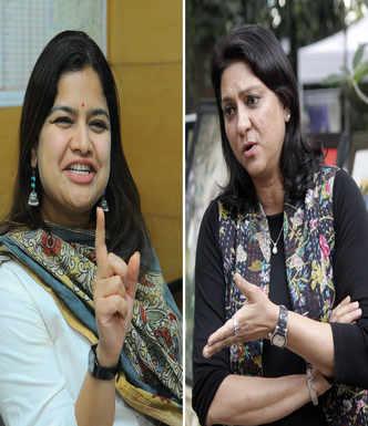 BJP releases list, it's Poonam vs Priya again